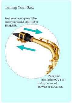 How to tune your saxophone McGill Music Sax School The ultimate online saxophone lesson resource www.mcgillmusic.com
