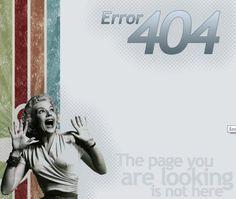the dreaded Error 404 on Pinterest