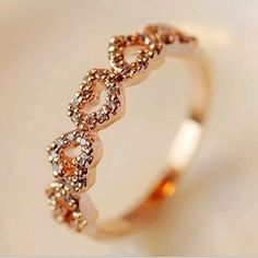 best friend gifts five diamond peach heart love ring,cheap fashion ring shop at : http://Costwe.com/fashion-cheap-rings-c-47_43.html