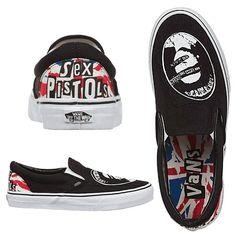 The Sex Pistols Vans