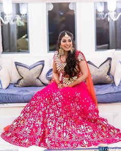 We love her versatile style and this @abujanisandeepkhosla outfit is Perf ! #mirrors #Lehenga #wedding #sisterofthebride #engagement #pink #fuschia #pinklehenga #mirrorworklehenga #instagood #instapic #fashion #bride #bridal #weddingday #bride #indianbride #indianwedding #destination #abusandeep #bridaloutfit #bridesmaid #ootd #style #cute