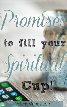 Do you ever feel spiritually dehydrated? Learn how to be nourished with God's word and fill your spiritual cup with the 40 promises of the cross.