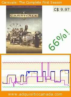 Carnivale: The Complete First Season (DVD). Drop 66%! Current price C$ 9.97, the previous price was C$ 29.00. https://www.adquisitiocanada.com/warner/carnivale-s1-comp