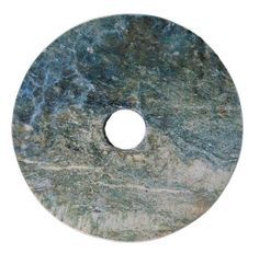 Bi (disk ceremonial) in jade. Liangzhu Culture (China), 3200-2200 BC about.