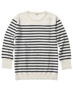 Jennifer Alfano's Wish List: Striped Sweater