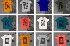 raubdruckerin pirate printers create edgy streetwear clothing by printing…