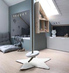 Kinderzimmer mit Turnseil