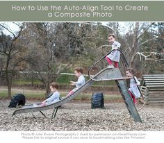 How to Use Auto-Align to Create a Composite Photo