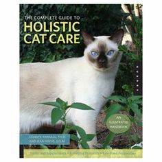 "An essential complement to veterinary care, this holistic health guide offers homeopathic treatments and nutrition advice for your favorite feline friend.   Product: BookFeatures:  Written by Celeste Yarnall and Jean HofveInsight into natural alternatives in food, medication, alternative therapies, and healing practicesIncludes a complete bibliography and a list of suppliers of holistic remedies and services192 Pages Dimensions: 10.5"" H x 8.12"" W"