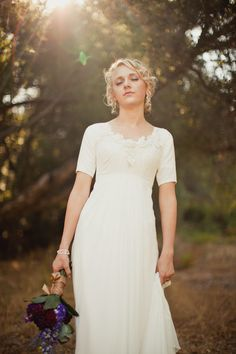Sheer Beauty of Simplicity - Modest Wedding Gowns