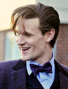 The Doctor~This is a great shot of the eleventh Doctor played by the talented Matt Smith.