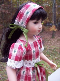 """COUNTRY CHRISTMAS""OUTFIT FOR 20"" MARU & FRIENDS, KIDZ N CATS 18""  #ClothingAccessories"