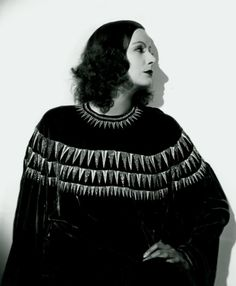 Greta Garbo - and I love the sweater!