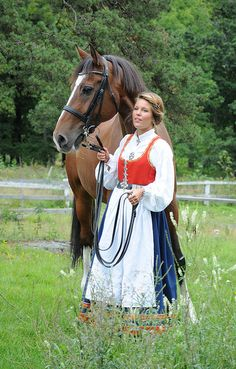 Bunad from Vestfold County, Norway Folk Costume, Costumes, Beautiful Norway, Nature View, Going Out Of Business, Ethnic Dress, Medieval Dress, Traditional Clothes, People Dress