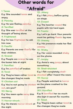 Other Ways To Say Common Things in English with Helpful Examples - Fluent Land English Sentences, English Vocabulary Words, English Phrases, English Grammar, Grammar Book, Vocabulary List, English Tips, English Study, English Lessons