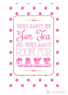 . lily&Bloom . tea & cake .