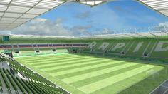 Allianz Stadion - Bau geht in Halbzeit!  Die Bauarbeiten für das neue Stadion des SK #Rapid #Wien in Wien Hütteldorf gehen voran. Real Estate