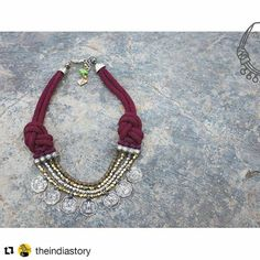 #Repost @theindiastory with @repostapp ・・・ @mayabazaarjewellery fuses traditional crafts like Charakkam and crochet with a modern sensibility, using interesting materials like gold polished brass and semi-precious stones, along with our intricate threadwork.  #tis16 #revivereinventrelove #jewellery #mayabazaar #maya #innovation #urban #chic #charakkam #crochet #indiandesign #allthingsdesign #allthingsindian #prettything