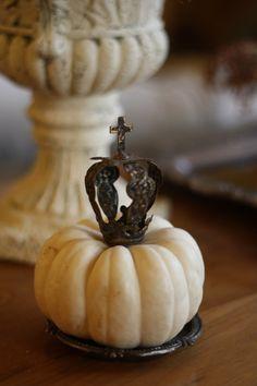 Pumpkin crowned