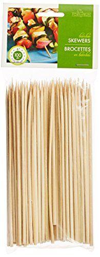 Fox Run Bamboo Skewers, Set of 100