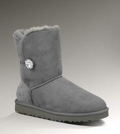 UGG Bailey Bling 3349 Grey Boots $112