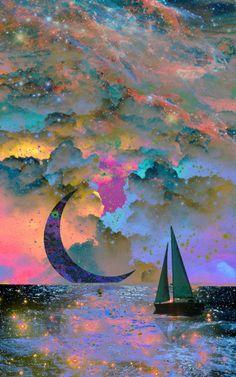 weareallstarstuff: Moonset