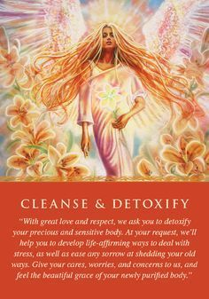 Oracle Card Cleanse & Detoxify | Doreen Virtue | official Angel Therapy Web site