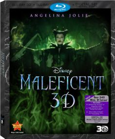 Disney's Maleficent: Blu-ray 3D Combo Pack by Polyrhythms.deviantart.com on @deviantART