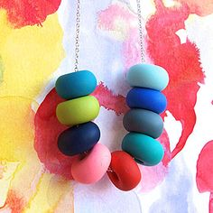 Vivid Mix Necklace by Emily Green-oyemodern.com