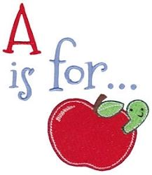 What is for... Alphabet Filled - 2 Sizes! | Alphabets | Machine Embroidery Designs | SWAKembroidery.com Bunnycup Embroidery