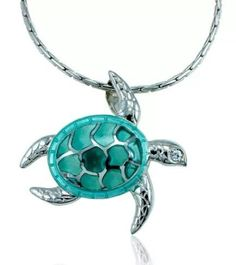 Guy Harvey sea turtle pendant.