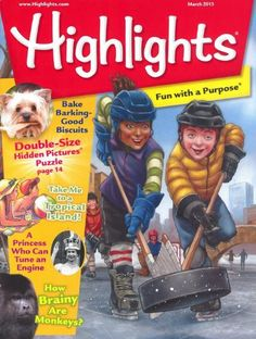 magazine page Highlights Magazine Highlights Magazine, Hidden Picture Puzzles, Monthly Magazine, Hidden Pictures, Cool Magazine, Magazines For Kids, Toys, Children, Fun