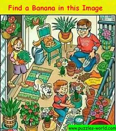 Mindfulness For Kids, Hidden Objects, Brain Teasers, Tribal Tattoos, Beautiful Pictures, Jokes, Banana, Puzzles, Poetry