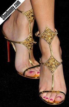 "Christian Louboutin ""Lady Max"" sandals - Elizabeth Banks"