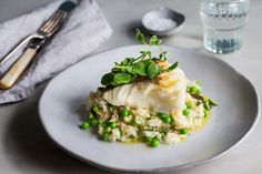 Baked Cod And Asparagus Recipe.Baked Cod Piccata With Asparagus Recipe Taste Of Home. Baked Cod With Ritz Cracker Topping Recipe SimplyRecipes Com. Baked Cod Fish Recipes With Bread Crumbs. Asparagus Risotto Recipe, Risotto Recipes, Cod Recipes, Fish Recipes, Seafood Recipes, Dinner Recipes, Cooking Recipes, Healthy Recipes, Risotto Dishes