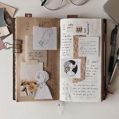 may you grow into a garden Bullet Journal Aesthetic, Bullet Journal Ideas Pages, Bullet Journal Inspiration, Art Journal Pages, Scrapbook Journal, Journal Layout, Junk Journal, Kunstjournal Inspiration, Arte Sketchbook
