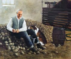 Sorting Seed Potatoes by Martin Driscoll