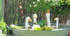 Stampin'up!-Demonstrator, Bastelideen, Stempel, Stampin'Up! Garden Whimsy, Garden Deco, Landscaping With Rocks, Backyard Landscaping, Garden Crafts, Garden Projects, Back Gardens, Outdoor Gardens, Hidden Garden