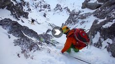 These Skiers' First Descent Was Really Cool, Their Film Is Freaking Amazing Skiers, Amazing Watches, French Alps, Two Best Friends, Extreme Sports, Snowboard, Mount Everest, Past, Survival