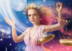 Libra dances with Luna Beautiful Fantasy Art, Beautiful Paintings, Zodiac Art, Zodiac Signs, Libra Images, Scorpio And Libra, Taurus, Signo Libra, Creation Photo