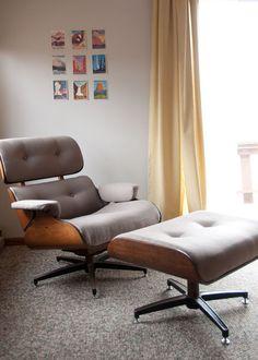 Eames-era Lounge Chair DIY Upholstery