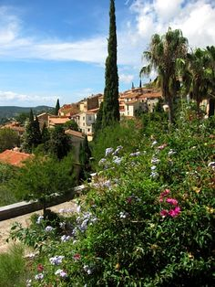 Bormes les Mimosas - Var, Provence  | by © French Paintings