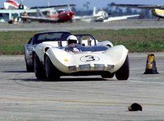 1965 12 Hours of Sebring.  Chaparral 2c