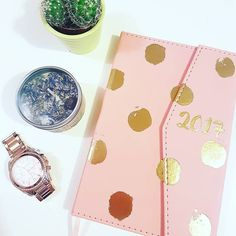 Excited for 2017. Also  this diary from paperchase. I'm trying to be more organised this year.