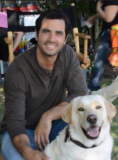 Gorgeous Antonio in Christmastail with Raz.