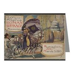 Great Suffrage Parade 1913 Note Cards (Pk of 10)
