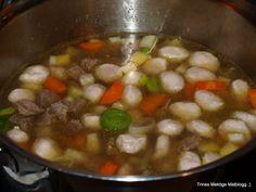 Kjøttsuppe - TRINEs MATBLOGG
