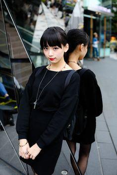 ストリートスナップ [ゆら] | ALICE BLACK, PRADA, snidel, アリスブラック, スナイデル, プラダ | 原宿 | Fashionsnap.com