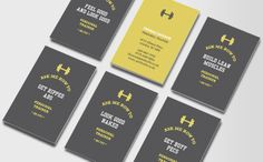 Affirmation Business Cards 4 Personal Trainer
