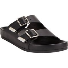 [Givenchy-double-strap sandals]